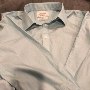 Charles Tyrwhitt dress shirt non iron slim fit